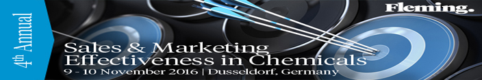 4th Annual European Sales & Marketing Effectiveness in Chemicals Forum - SciDoc Publishers