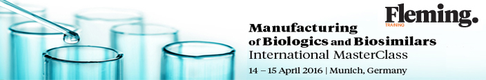 Manufacturing of Biologics and Biosimilars - SciDoc Publishers