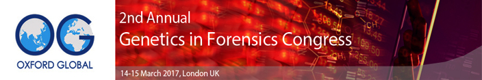 2nd Annual Genetics in Forensics Congress_SciDoc
