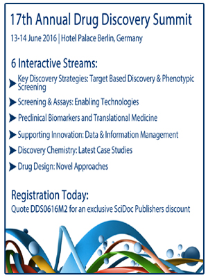 17_Annual_Drug_Discovery_Summit_2016_SciDocPublishers
