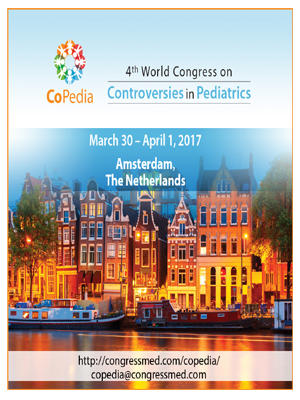 4th World Congress on Controversies in Pediatrics (CoPedia) - 2017-SciDoc-Publishers