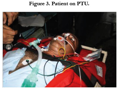 Patient Transfer Unit: Clinical Experience On Medical Evacuation In