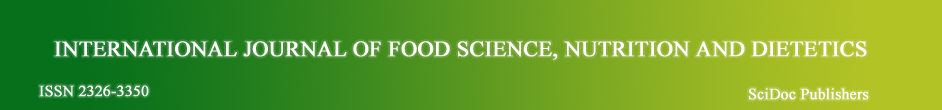 Food Science Journal - IJFS - SciDoc Publishers