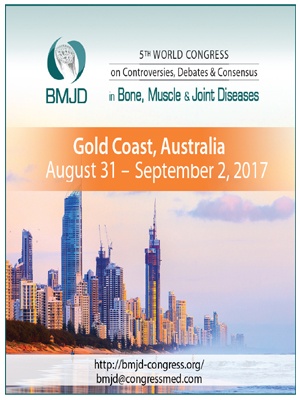 5th World Congress on Controversies, Debates and Consensus in Bone, Muscle and Joint Diseases-SciDoc-Publishers